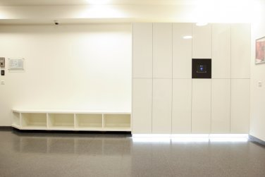 Blocks lockers | Coral Office Park